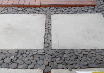 Decoración exterior en piedra