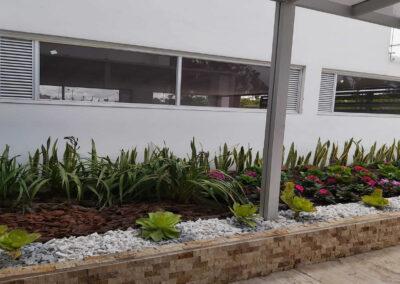 Jardines exterior