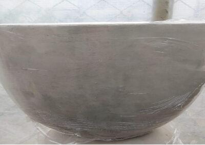 Paila en cemento