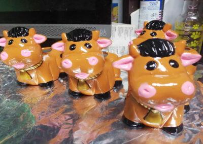 Matera cerámica suculentas